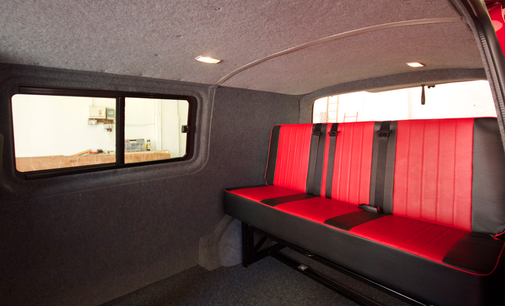 seats for campervan