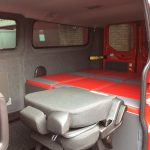 Ford Transit Custom Double Bed