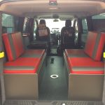 Ford Transit Custom Double Bench Seats with Storage