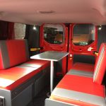 Ford Transit Custom Lounge area with Leisure Electrical Sockets