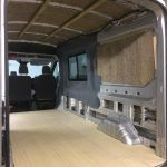 Ford Transit T350 Insulating