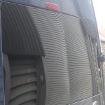 Ford Transit T350 Rear Barn Door Windows in Privacy Glass