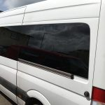 Mercedes Sprinter Bonded WIndows in Privacy Glass