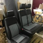 VW T5 Drivers and Passengers Seats Re-Trimmed